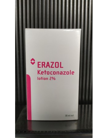 ERAZOL Ketoconazole lotion 2%